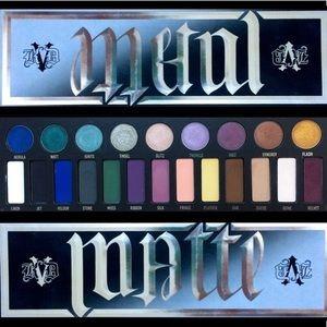 Kat Von D Makeup - Kat Von D Metal Matte palette